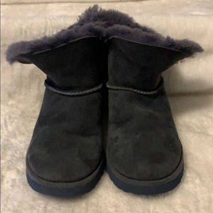 UGG Mini Boots in Blue Size 5.5